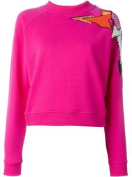 geometric macrame jumper Christopher Kane