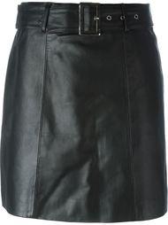 юбка мини с ремнем Jeremy Scott