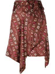 юбка асимметричного кроя  Isabel Marant