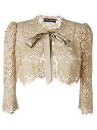 кружевное болеро Dolce & Gabbana