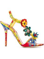 босоножки Carretto Siciliano Dolce & Gabbana