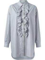 платье-рубашка с оборками  J.W. Anderson