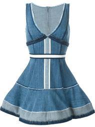 джинсовое платье 'Inside Out' Dsquared2