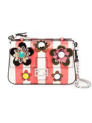 мини сумка через плечо  'Fashion Show Double Baguette'  Fendi
