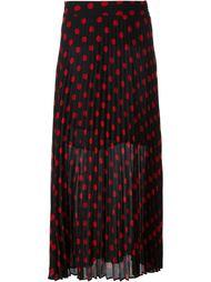 плиссированная юбка в горошек McQ Alexander McQueen