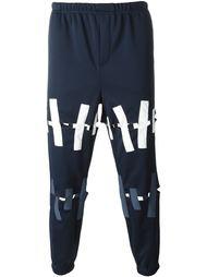 брюки с панельным дизайном  Christopher Shannon