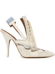 туфли в стиле брог  Givenchy