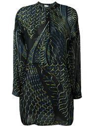 multi print shirt dress Lala Berlin