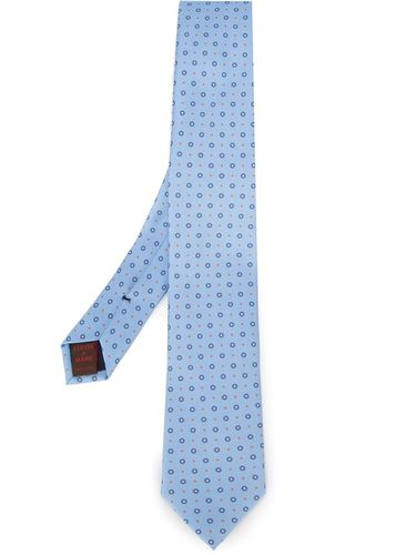 жаккардовый галстук с узором Fashion Clinic