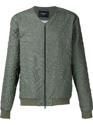 collarless bomber jacket Cwst