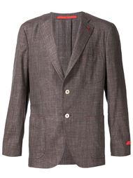 single breasted blazer   Isaia