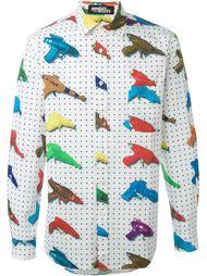 рубашка с принтом  Jeremy Scott