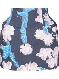 floral print structured skirt Julien David