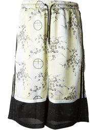 шорты с цветочным принтом  Astrid Andersen