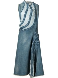 distressed denim dress Junya Watanabe Comme Des Garçons