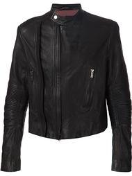 байкерская куртка с рукавами в рубчик Haider Ackermann