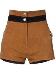 contrast waistband shorts Beau Souci