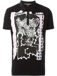 рубашка с принтом тигра  Roberto Cavalli