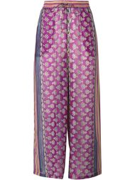 Charma Printed Wide-Leg Trousers Mes Demoiselles