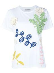crochet appliqué T-shirt Vika Gazinskaya