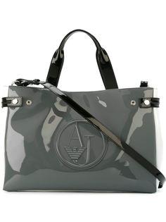 большая сумка-тоут с логотипом  Armani Jeans