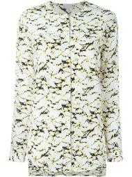 collarless printed shirt Lala Berlin