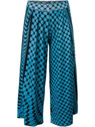 printed pleated culottes Lala Berlin