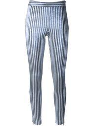полосатые брюки с пайетками Giamba