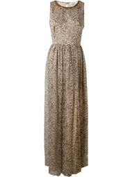 платье с леопардовым принтом   Blugirl