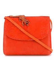 Hairy Orange Shoulder Bag Amélie Pichard