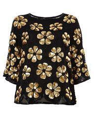 блузка с цветочной вышивкой  Faith Connexion