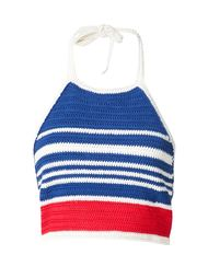 cropped knit top Vika Gazinskaya