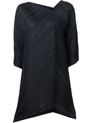 triangle cut pleated top Pleats Please By Issey Miyake