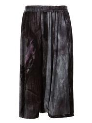 брюки с узором  Yohji Yamamoto