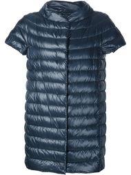 дутая куртка с короткими рукавами Herno