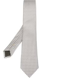 tile embroidery tie  Canali