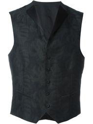 printed waiscoat Tonello
