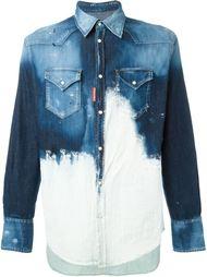 джинсовая рубашка 'Trapez'  Dsquared2