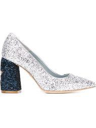 туфли с блестками Chiara Ferragni