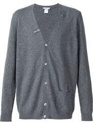distressed button down cardigan Avant Toi