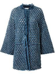 фактурное пальто  Sonia Rykiel