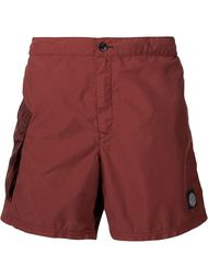 pocket detail bermuda shorts Stone Island