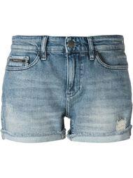 джинсовые шорты с потертой отделкой Calvin Klein Jeans