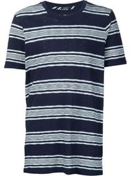 striped fine-knit T-shirt Denham