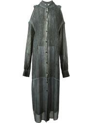 платье-рубашка с открытыми плечами  Lost & Found Ria Dunn