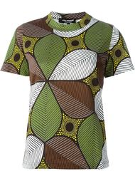 African flower print T-shirt Junya Watanabe Comme Des Garçons