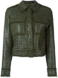 пиджак 'Laminated Boucle' Versace