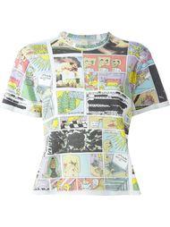 футболка с графическим принтом Eckhaus Latta