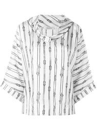 блузка с принтом Max Mara