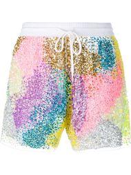 Sequin-Embellished Shorts Ashish